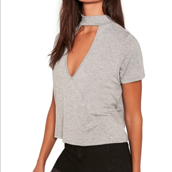 5823e190fd1e62 Missguided Tops | Nwt Choker Top | Poshmark